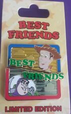 Disney Pixar Woody & Buzz Best Friends series Toy Story September Le Pin