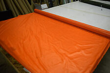 """2NDS FABRIC ORANGE 1.9 OZ NYLON RIPSTOP 70D FABRIC 65"""" SOLD BY THE YARD"""