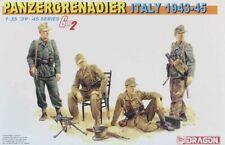 Dragon Dml 1:35 Panzergrenadier Italy 1943-45 Plastic Figure Model Kit #6348