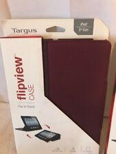 New Targus Ipad 5th Generation Flipview Case -You pick the Color