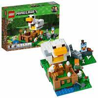 LEGO 21140 Minecraft The Chicken Coop Farming Adventures Construction Toy Set