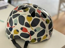 Orla Kiely Olive And Orange Halfords Cycling Helmet Adult 54-58cm