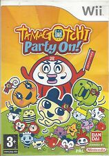 TAMAGOTCHI PARTY ON for Nintendo Wii - with box & manual