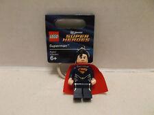 Lego #850813 Superman Man Of Steel Key Chain Rare And HTF  With Tag NIB 2013!