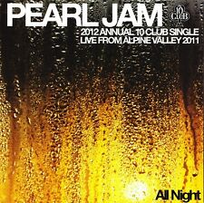 "PEARL JAM 2012 ANNUAL 10 CLUB CHRISTMAS VINYL SINGLE BRAND NEW 7"" 45 RPM AUSSIE!"