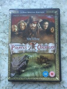 Signed copy of Pirates Of The Caribbean At World's End, 2 Disc DVD
