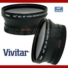 58mm Vivitar 0.43x Wide-Angle W/ Macro 4 Canon 18-55mm T3i T2i T1i 600D 550D