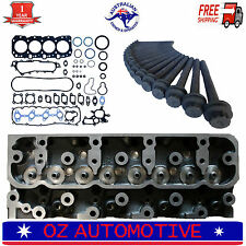 HOLDEN JACKAROO 4JX1-T DOHC 16V TURBO DIESEL BARE CYLINDER HEAD PLUS HEAD BOLTS