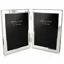 """Double Silver Plated Photo Frame 5"""" x 7"""" 3498"""