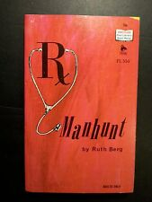 Manhunt: Ruth Berg Pad Library 1967 Sleaze/GGA/Fiction/Adult/Pulp E-60