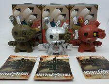 "Kidrobot Art of War Dunny Series 3/"" Drilone Green Worldwide Free S//H"