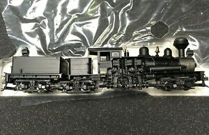 Bachmann Spectrum 80-Ton Three Truck Shay No. 81901 Painted Unlettered