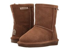 Toddler Bearpaw Emma Boot 608T Zipper Hickory II Suede 100% Authentic Brand New