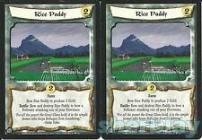L5R Legend of the Five Rings Diamond 2X RICE PADDY
