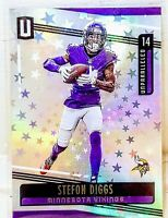 Stefon Diggs 2019 #/200 Panini Unparalleled Astral Parallel Minnesota Vikings