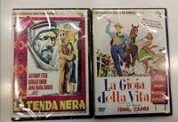 La Tenda Nera + La Gioia Della Vita (2 Dvd - Cineteca Quadrifoglio) Nuovo