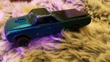 Hot Wheels Custom Fleetside. Mattel.1967 Redline. Aqua. Has Tonneau. Nice