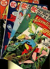 Adventure Comics 421,422,424,425 * 4 Book Lot * DC! Superman! Supergirl! Action!