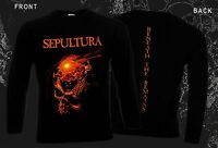 SEPULTURA -Beneath the Remains,T-shirt long sleeve-sizes:S to XXL