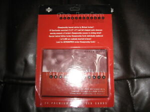 1997 UD Michael Jordan Championship Oversized 24 Card Set NIP Free Shipping