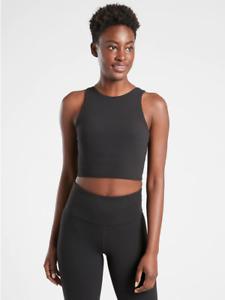 Athleta Women's Conscious Crop Large Black A-C