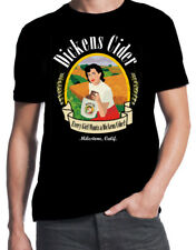 Dickens Cider Every Girl Wants One Funny Rude Crude Offensive Mens Black T-Shirt