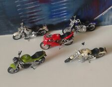 Maisto Harley Davidson Triumph Ducati BMW Mini Motorcycles lot of 5 model toys