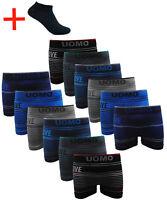 24 Paket Neue Boxershorts Retroshort Herren Unterwäsche Unterhose Microfaser GP