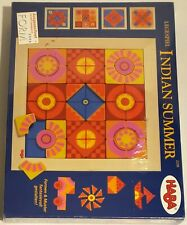 Haba Legespiel Indian Summer #2298 88-Piece Magnetic Wooden New/Sealed HTF