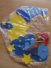 Schild / Mobilee für Babyzimmer - Gute Nacht Bär mit Mond