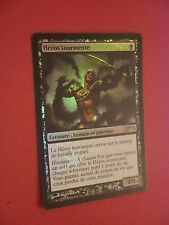 MTG MAGIC CARTE FNM DCI TORMENTED HERO (FRENCH HEROS TOURMENTE) NM FOIL
