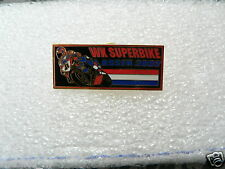PINS,SPELDJES DUTCH TT ASSEN OR SUPERBIKES MOTO GP 2002 SUPERBIKES SBK ASSEN