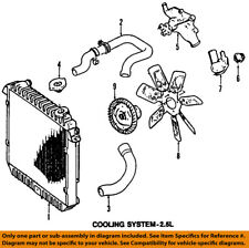 Jeep CHRYSLER OEM 97-00 Wrangler-Engine Cooling Radiator Fan Clutch 68065080AA