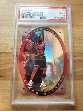 PSA 9 MINT 1996 SPx #R1 Michael Jordan Record Breaker Chicago Bulls
