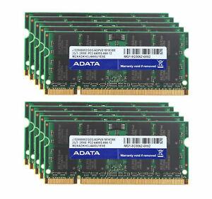 New 100% Genuine ADATA 2GB 4GB Memory Ram Laptop DDR2 PC2 6400S 800MHz SODIMM