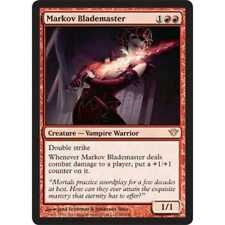 MTG Markov Blademaster NM - Dark Ascension