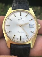 Omega Geneve Cal. 565 Automatic 1970 35mm Vintage Watch