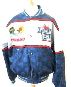 NFL World Bowl 1991 London Monarchs vs Barcelona Dragons Limited Edition Jacket