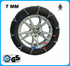 CATENE DA NEVE 7MM SMART FORTWO Coupe (453) [01/2014->] 185/60-15