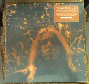 TURNOVER Peripheral Vision LP SEALED neon magenta vinyl Run For Cover w/download