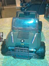 BIG VINTAGE 1993 GI JOE HEAVY DUTY PATROL JEEP RHINO MILITARY VEHICLE SOLDIER US