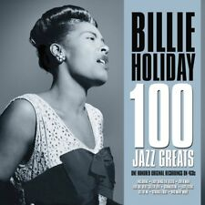 Billie Holiday 100 Jazz Greats Original Recordings on 4 CDs Lady Sings The Blues