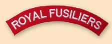 NEW OFFICIAL Royal Fusilier titles.