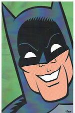 ADAM WEST - BATMAN PRINT HAND SIGNED Jorge Baeza