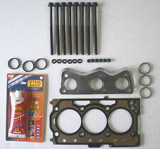Testa Guarnizione Set & Bulloni IBIZA FABIA VW POLO 1.2 3 CILINDRO 6V 2002 su 54 60 Bhp Vrs