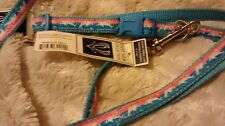 East Side Collection Seaside Ribbon Dog Lead & Collar, 10 to 16 -Inch, Dolphins