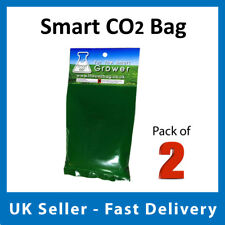 Smart CO2 Bag Hydroponic Growing Carbon Dioxide Aid Like Exhale  - PACK OF 2