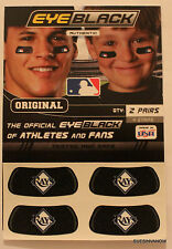 New Tampa Bay Rays Team Eye Black Stickers Major League Baseball MLB Authentic