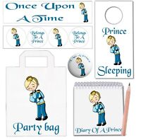 6 Prince Themed Party Goody Bags With Fillers Boys Girls Son Daughter Birthday