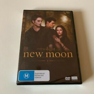 The Twilight Saga New Moon DVD REGION 4 NEW AND SEALED